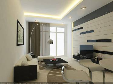 living room apartament contemporan