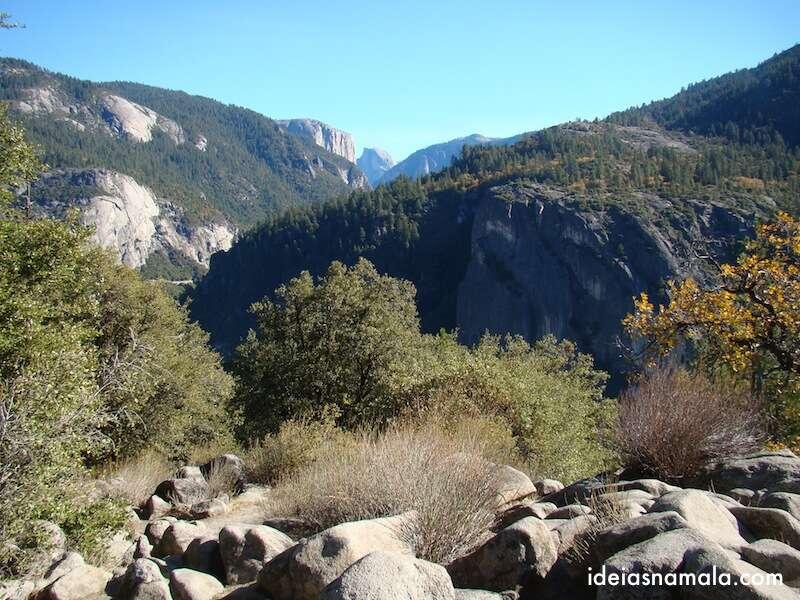 Vista Yosemite - Big Flat Crane