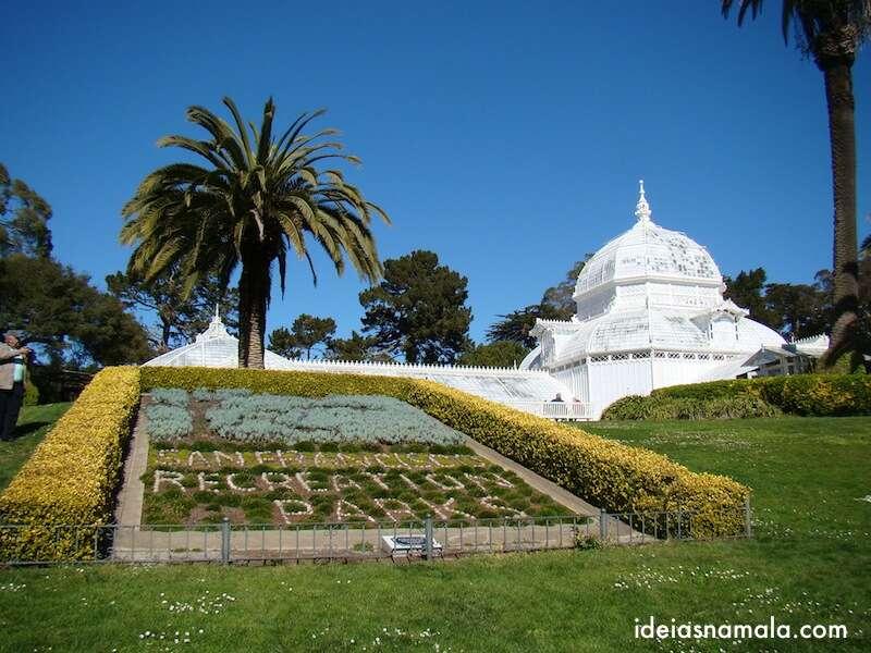 conservatório de flores - Golden Gate Park