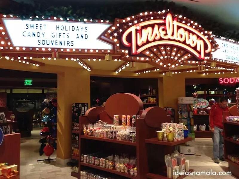Loja de doces em Los Angeles