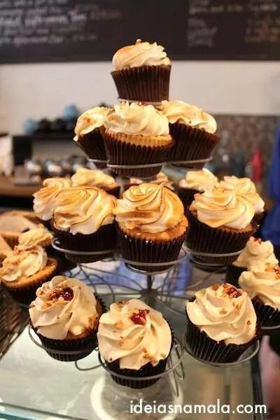 Cupcakes no Bea's Bloomsbury