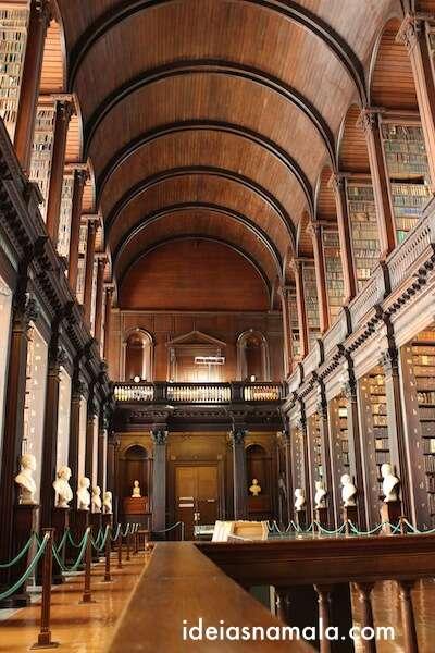 Biblioteca do Trinity College - Dublin