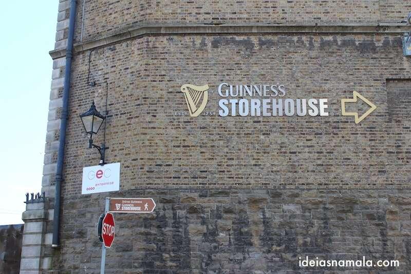 Fábrica da Guinness - Guinness Storehouse