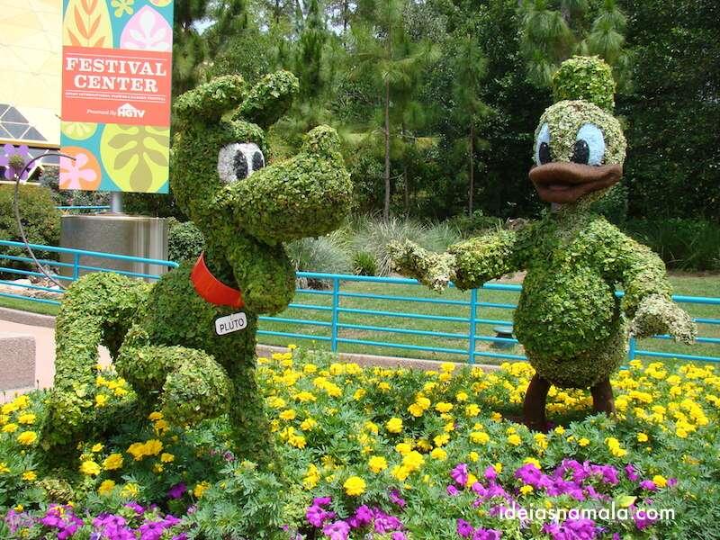 Donald e Pluto, Epcot