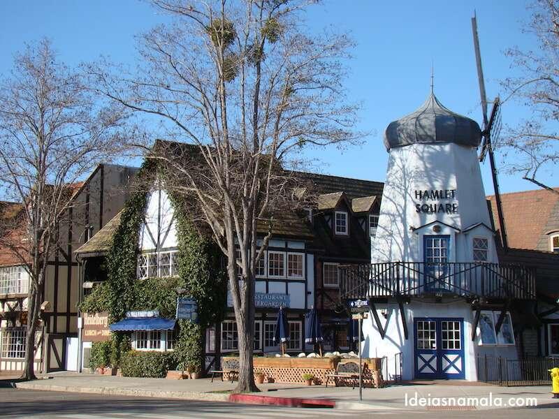Moinho em Solvang - Califórnia