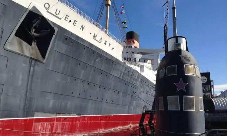 Queen Mary e Scorpion - Long Beach