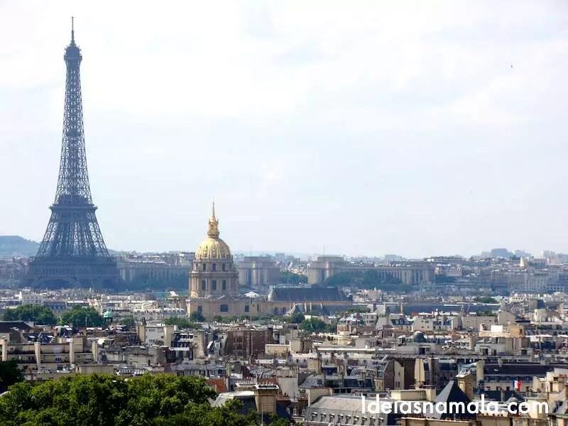 Lugares para viajar sozinha: Paris