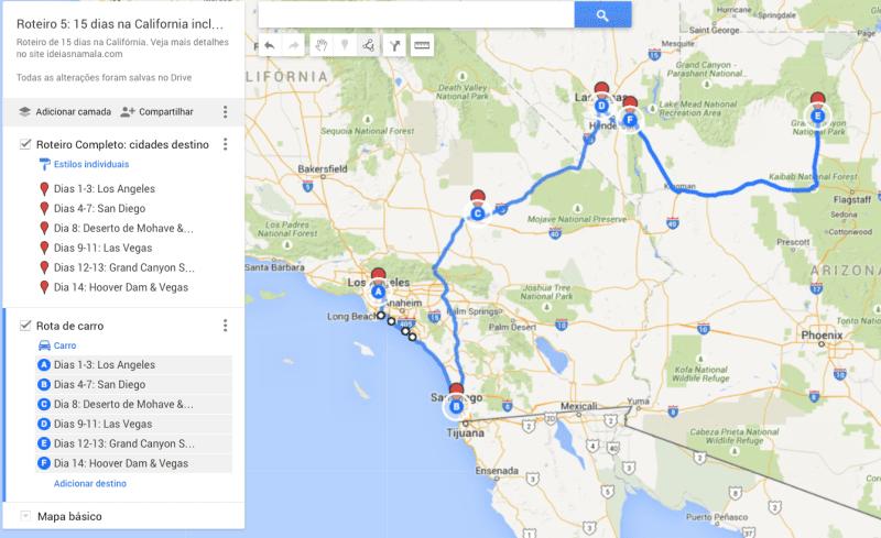 Roteiro 5: 15 dias na Califórnia
