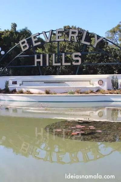 Placa de Beverly Hills
