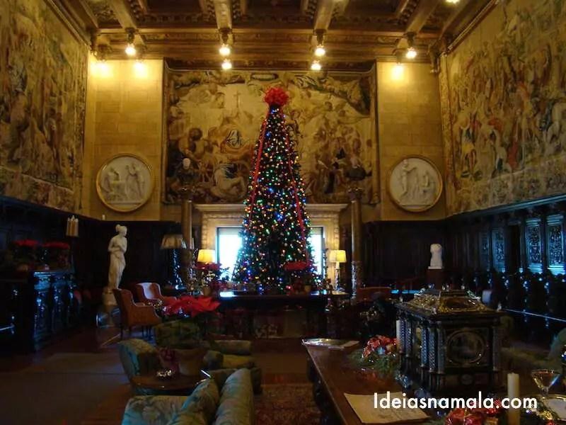 Sala de visitar do castelo