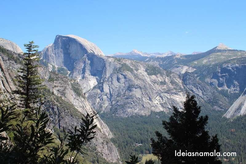 Half Dome - Trilha Upper Yosemite Falls