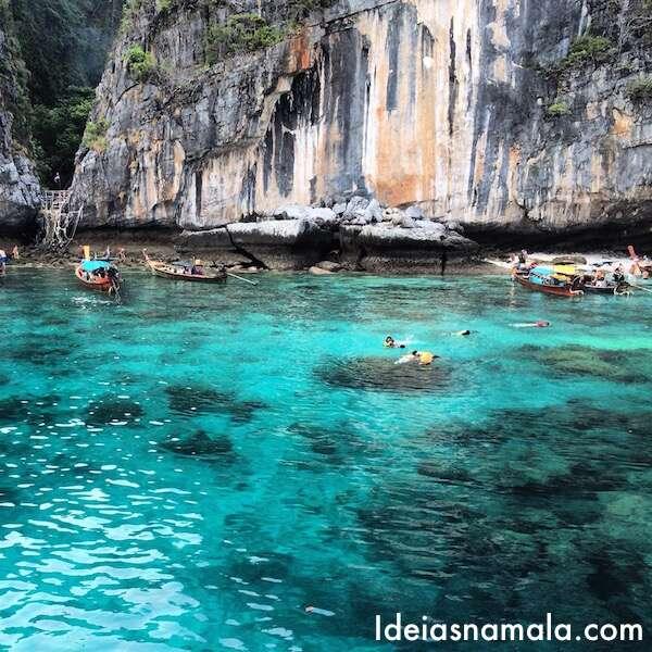 Koh Phi Phi Leh: Koh Phi Phi: Como é O Sleep Aboard Em Maya Bay