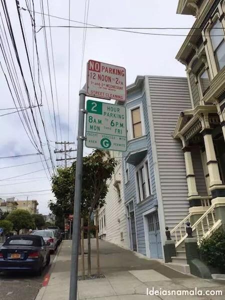 San Francisco sem carro