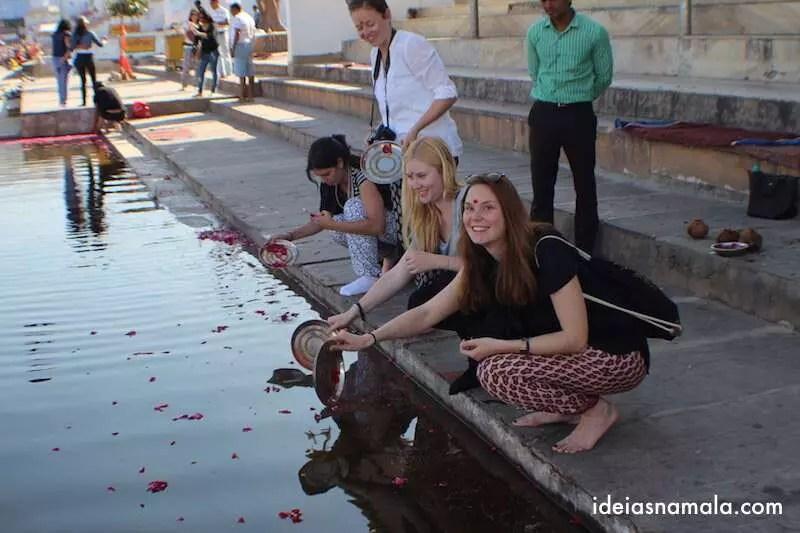 Pushkar : Benção do lago