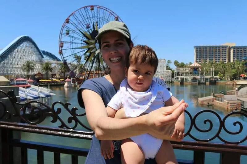 Como viajar com bebê para a Disney  dicas práticas - Ideias na mala 092257e4184aa