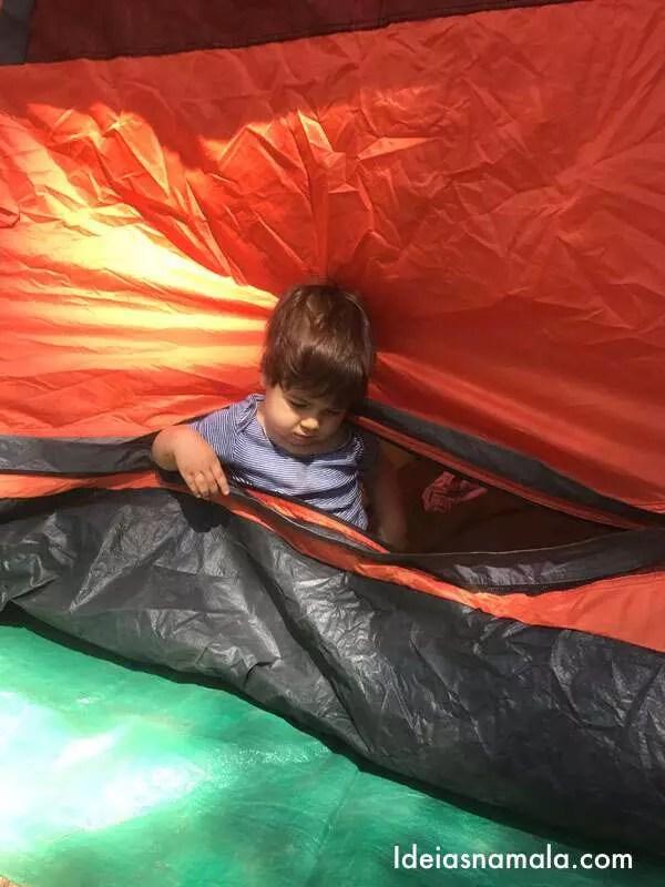 primeiro acampamento