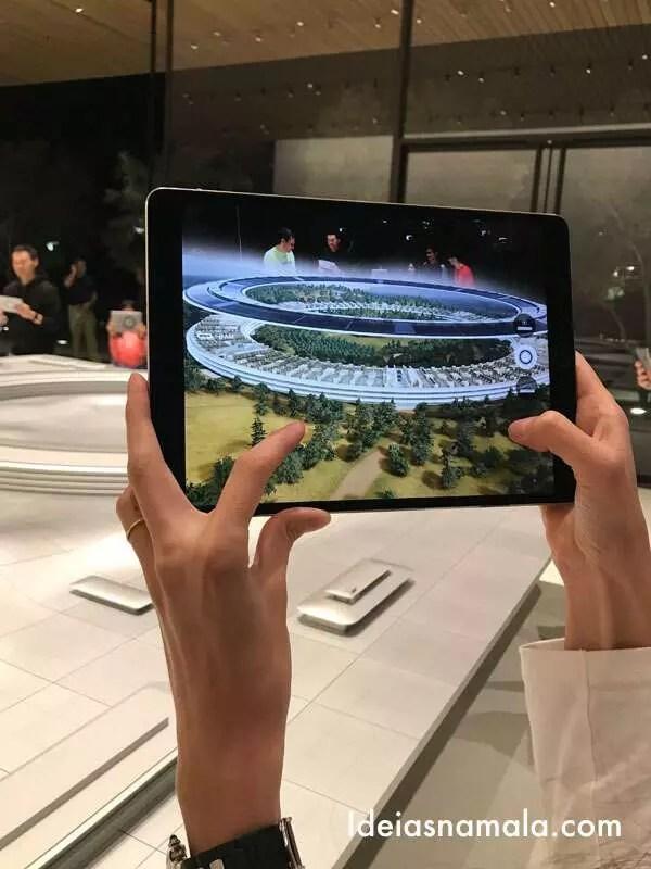 Apple Park: uma visita incrível ao centro de visitantes - Ideias na mala