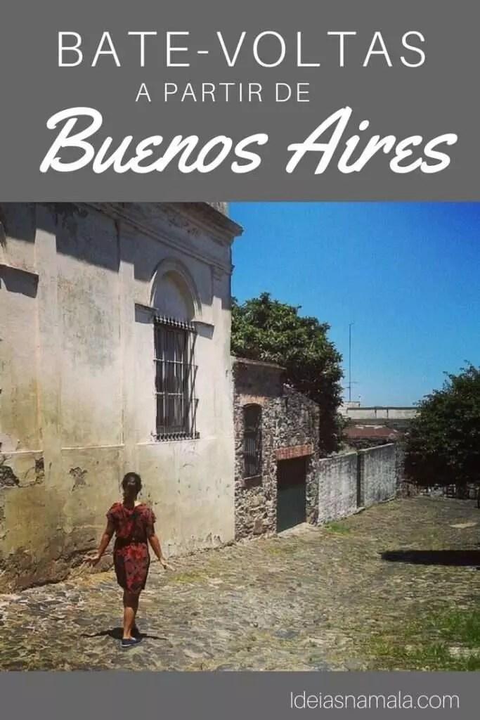 bate-voltas a partir de Buenos Aires