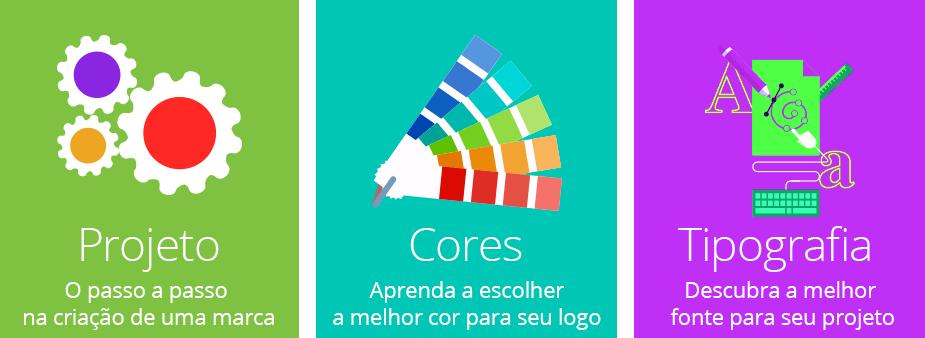 projeto cores tipografia