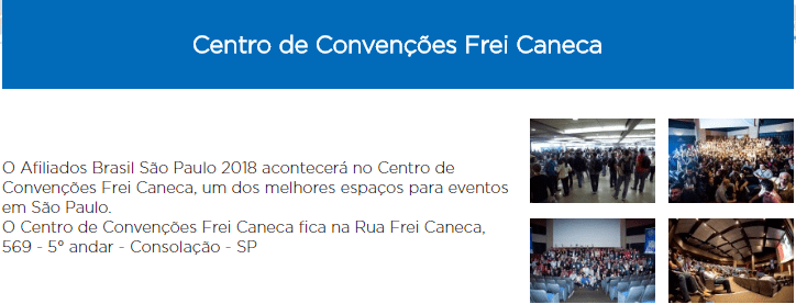 local evento frei caneca