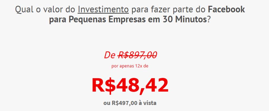 valor investimento