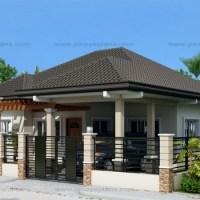Proiect de casa simpla, fara etaj, cu 3 dormitoare si garaj