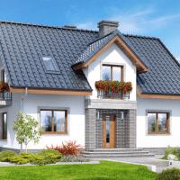 Proiect fabulos de casa P+M perfecta pentru o familie numeroasa