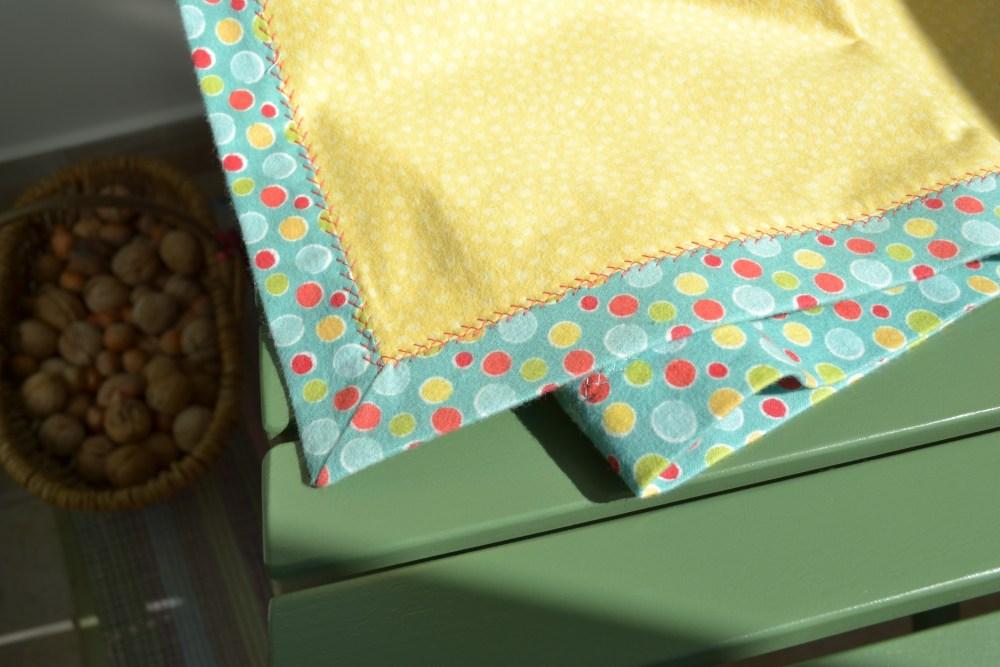Soft baby blanket (2/5)