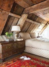 Interioare de vis din cabane rustice de lemn 30