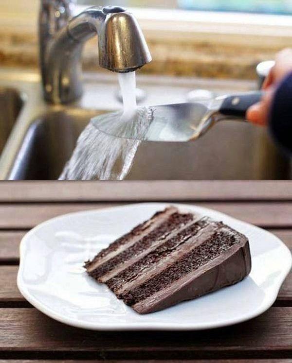 cum sa tai o felie de tort perfect