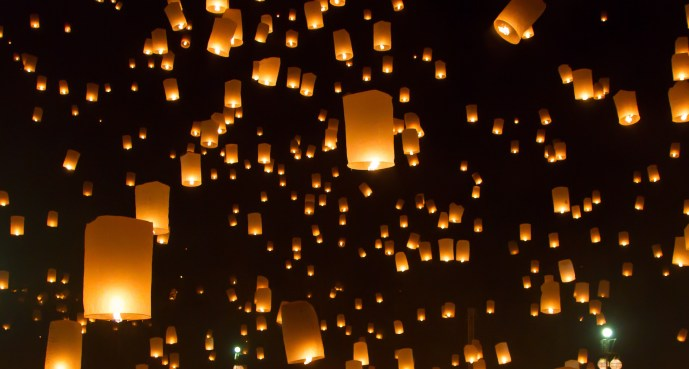 pictures of Chinese lanterns