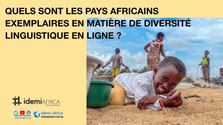 Etude IdemiAfrica - sites web officiel de pays Africains en langues locales