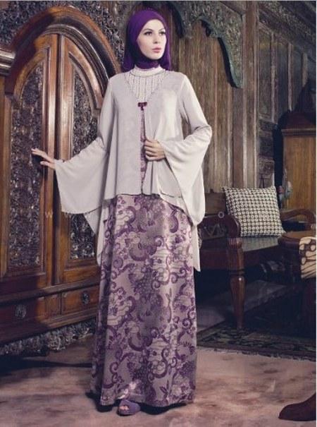 Contoh-Model-Baju-Gamis-Muslim-Pesta-Batik-Kombinasi-Brokat-Terbaru