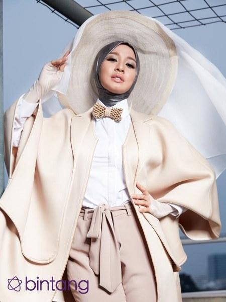Hijab Laudya Cynthia Bella yang sangat inspiratif