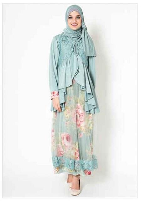 Koleksi Busana Muslim Gamis Batik Terbaru 2016