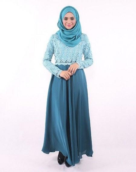 Model-Baju-Muslim-Brokat-Untuk-Lebaran