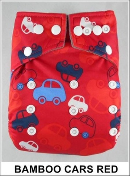 bamboo cars red