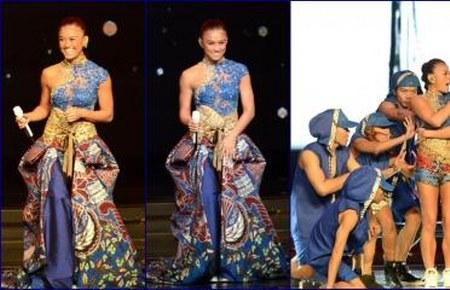kostum-kebaya-batik-agnes-monica