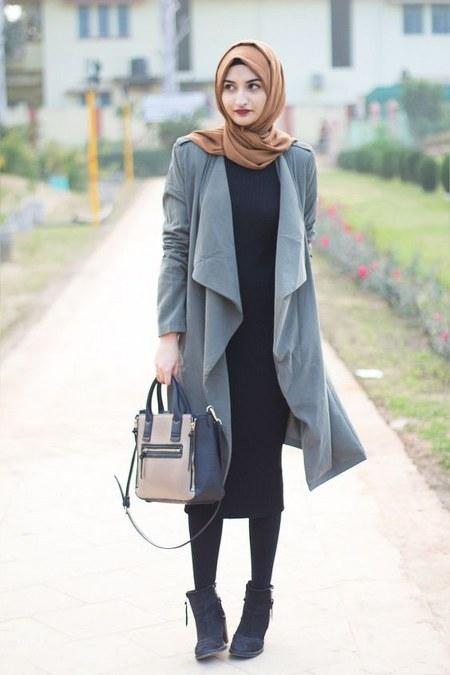 Dress Hijab dan Sepatu Boot (6)