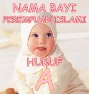 Nama Bayi Perempuan Islami Huruf A