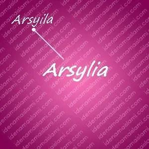 variasi arti nama arsylia untuk nama bayi perempuan islami