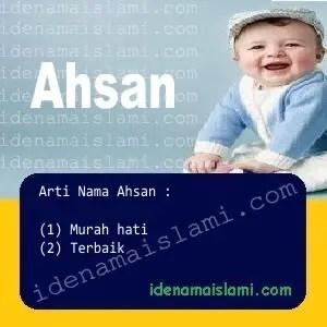 arti nama Ahsan