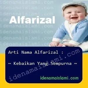 arti nama Alfarizal