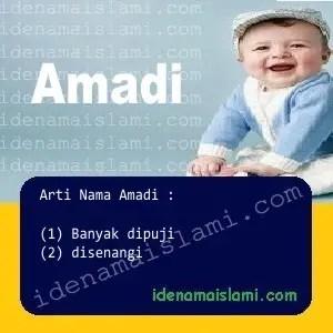 arti nama Amadi