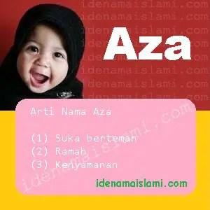 arti nama aza