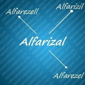 variasi arti nama Alfarizal untuk nama bayi laki laki islami