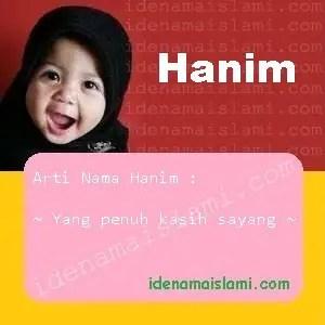 arti nama Hanim