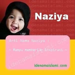 arti nama Naziya