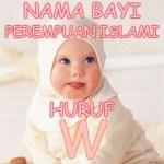 Nama Bayi Perempuan Islami Huruf W