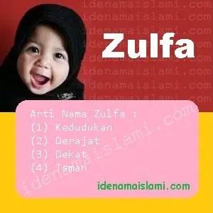 arti nama Zulfa